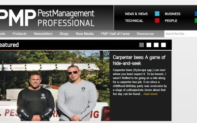Featured in Pest Management Professional Magazine