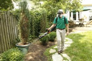 Spraying Mosquitoes. Photo Credit: Kentucky.com